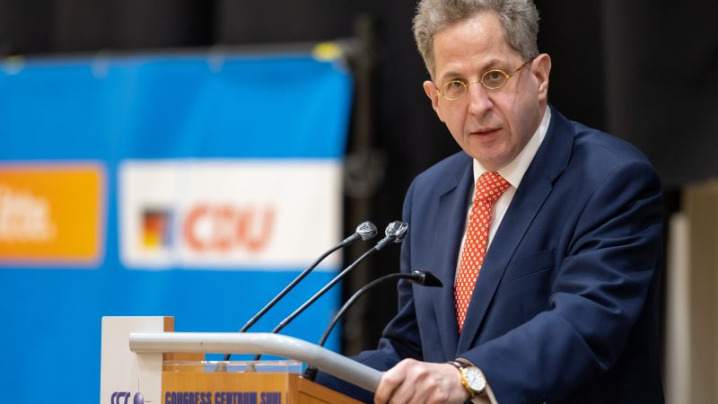 Attitude test for NDR journalists: outrage over CDU politician Maaßen