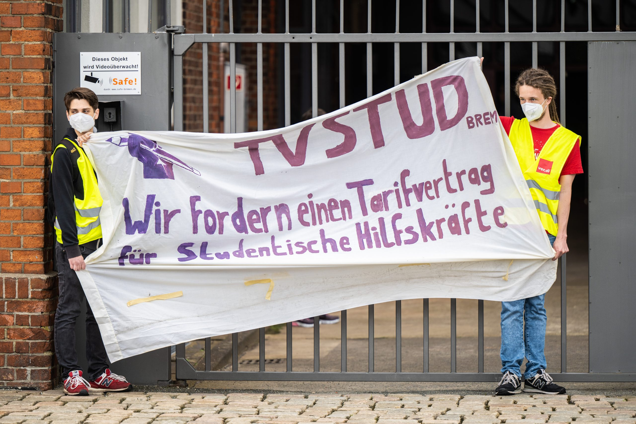 Berlin as an example: Hamburg students have clear demands