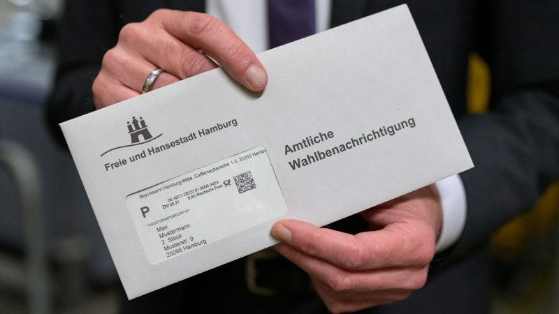 Postal voting in Hamburg: This is how it works with ballot papers and deadlines