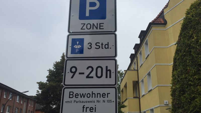 Resident parking is becoming significantly more expensive in Hamburg